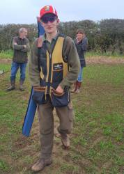 Henry Collins, of Newbold Farm who has been selected as junior captain of the English Sporting Team in the World Championships to be held in Texas 2017.