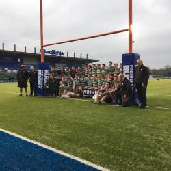 The final match against Gloucester was at Allianz Park .